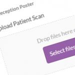 Upload Patient Scan